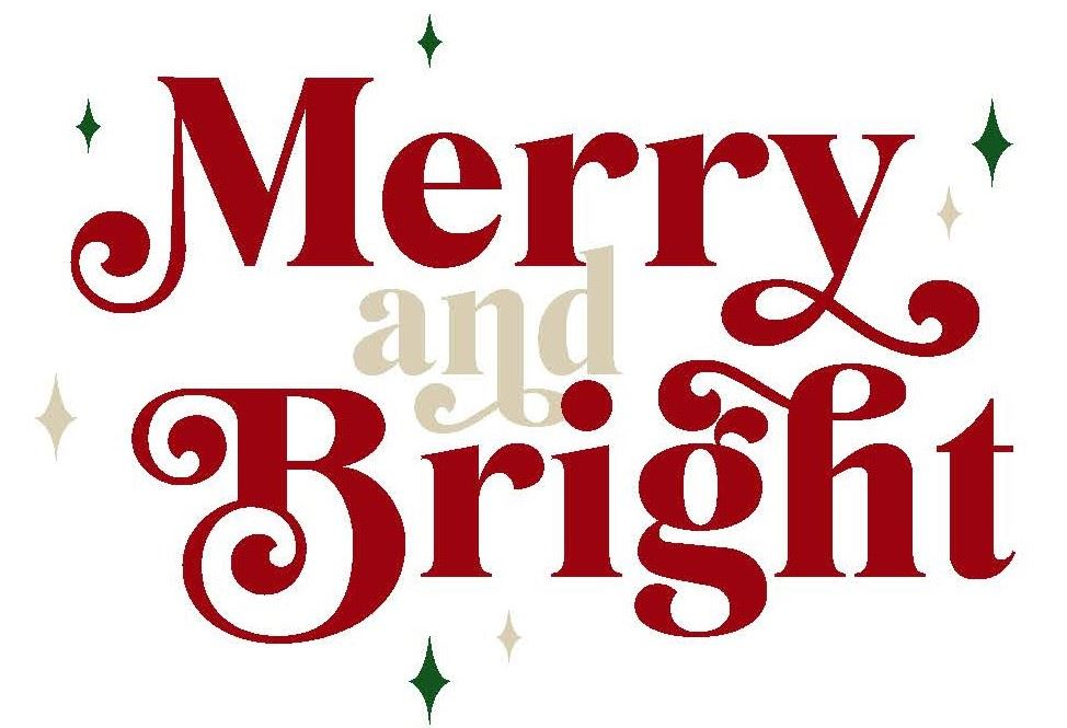 Graphic for the Lighted Parade Theme Merry & Bright